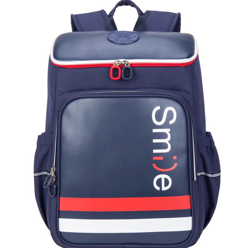 卡拉羊書包男女孩4-6年級兒童四五六中學生雙肩包減負護脊背包