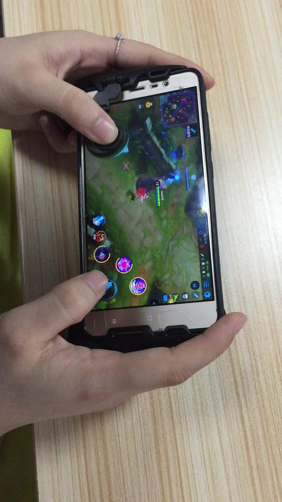 MOBA Game Controller Grip untuk Android & Iphone (Mobile Legends Vainglory, Dll) Gamepad Diperpanjang Menangani