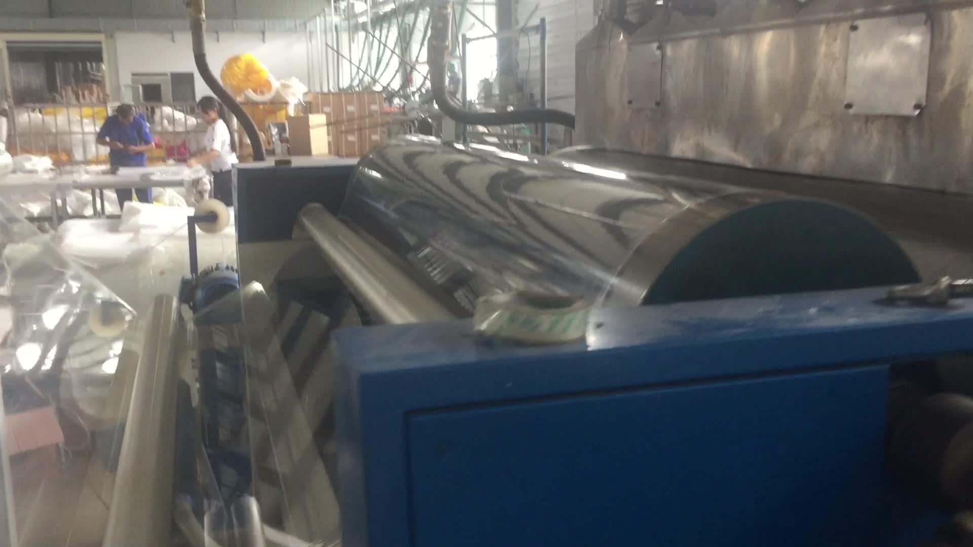 Leicht zu bedienende Nylon-Folie, die Plastikfolie für PVC-Frischhaltefolie für Lebensmittel-Silagefolien einwickelt