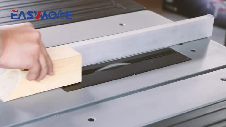 Customizable fence size high Speed Mini Sliding Table Saw machine for Woodworking
