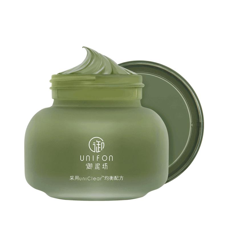 御泥坊绿豆泥浆面膜深层清洁收缩毛孔去黑头补水控油涂抹泥膜正品