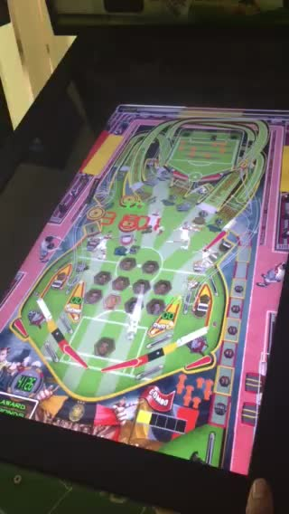 Video Game 3D Virtual Pinball Machine With Muitiple Games