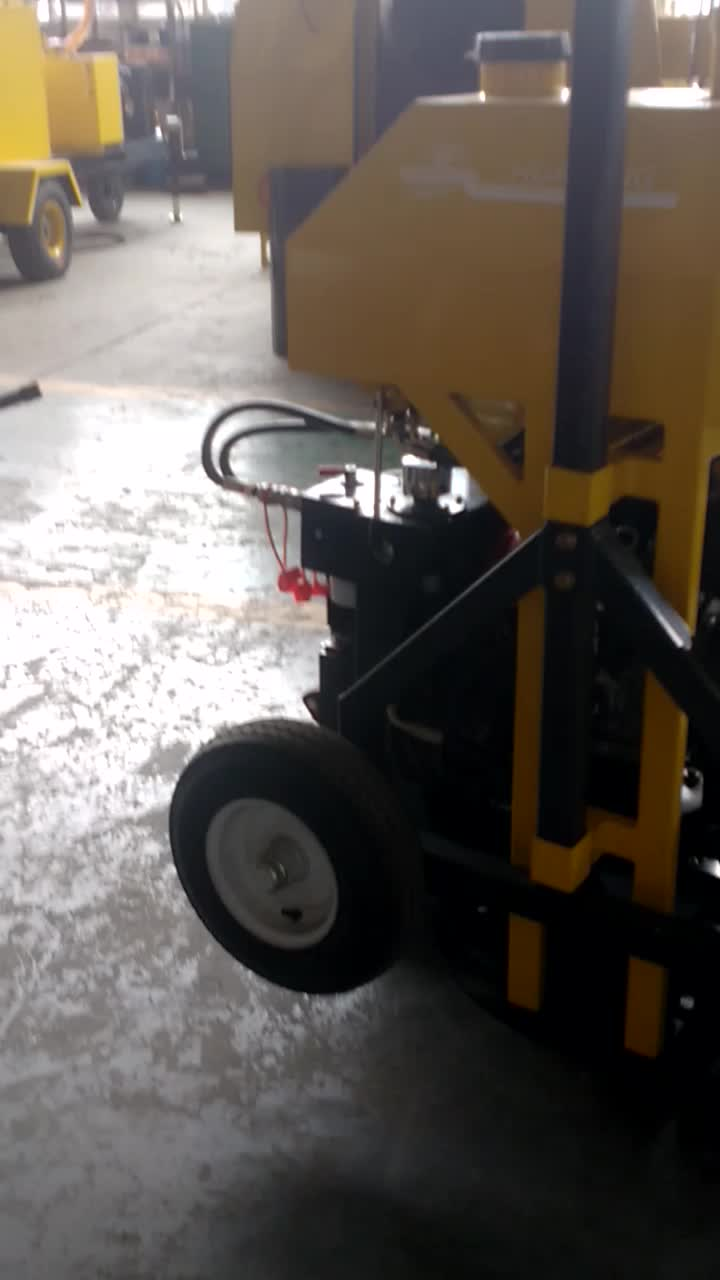 pavement maintenance mending machine manhole cover repair cutting machine manhole circular cutter equipment