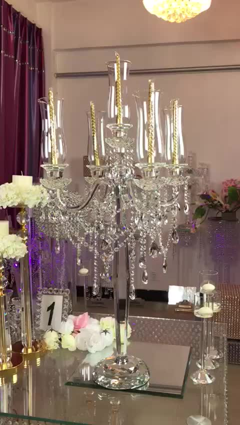 2017 New Decoration Table Top Chandelier Centerpieces For Weddings ...