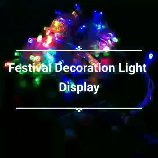 Super Hot-sale DD8531 china Halloween Diwali outdoor decoration led Christmas light