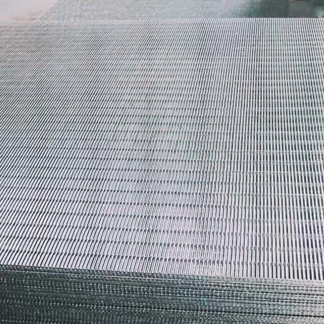 Galvanized high security fence welded wire mesh