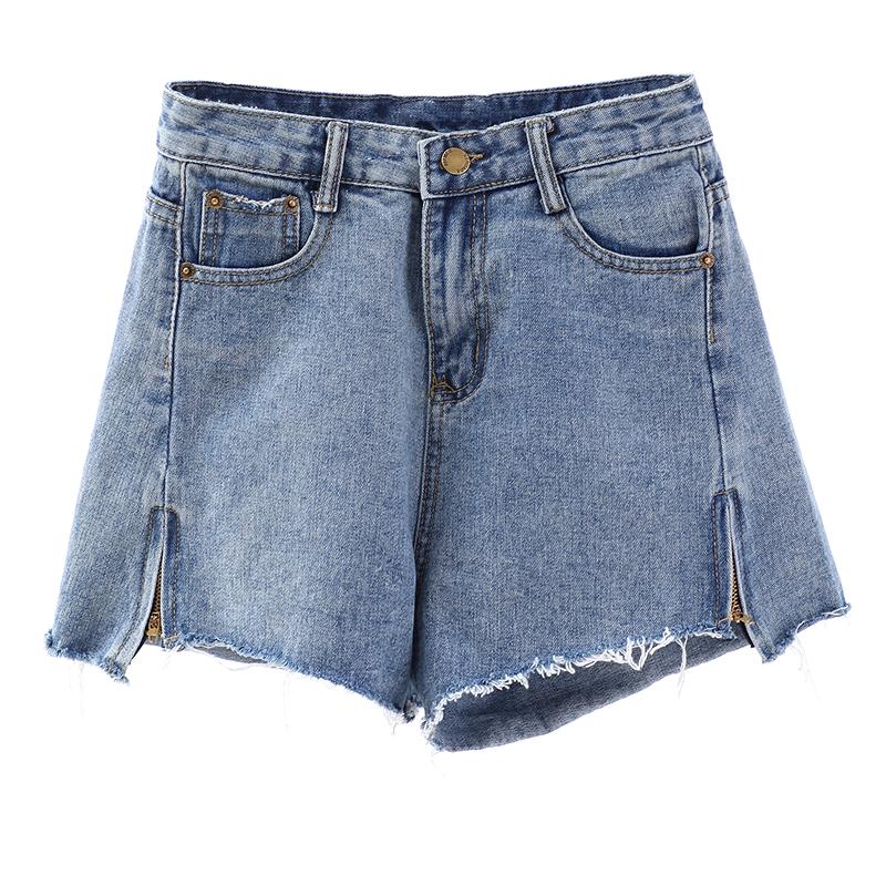 胖妹妹mm大码女装新款2021年微胖显瘦牛仔短裤子炸街辣妹风夏装潮