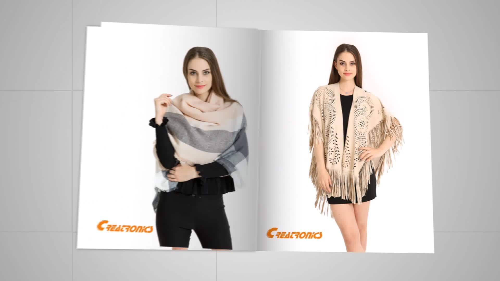 Fahsion Women Felling Thick Warm Long Plain Dyed Pashmina Cotton Scarf Shawl Cashmere Wholesale Pashmina