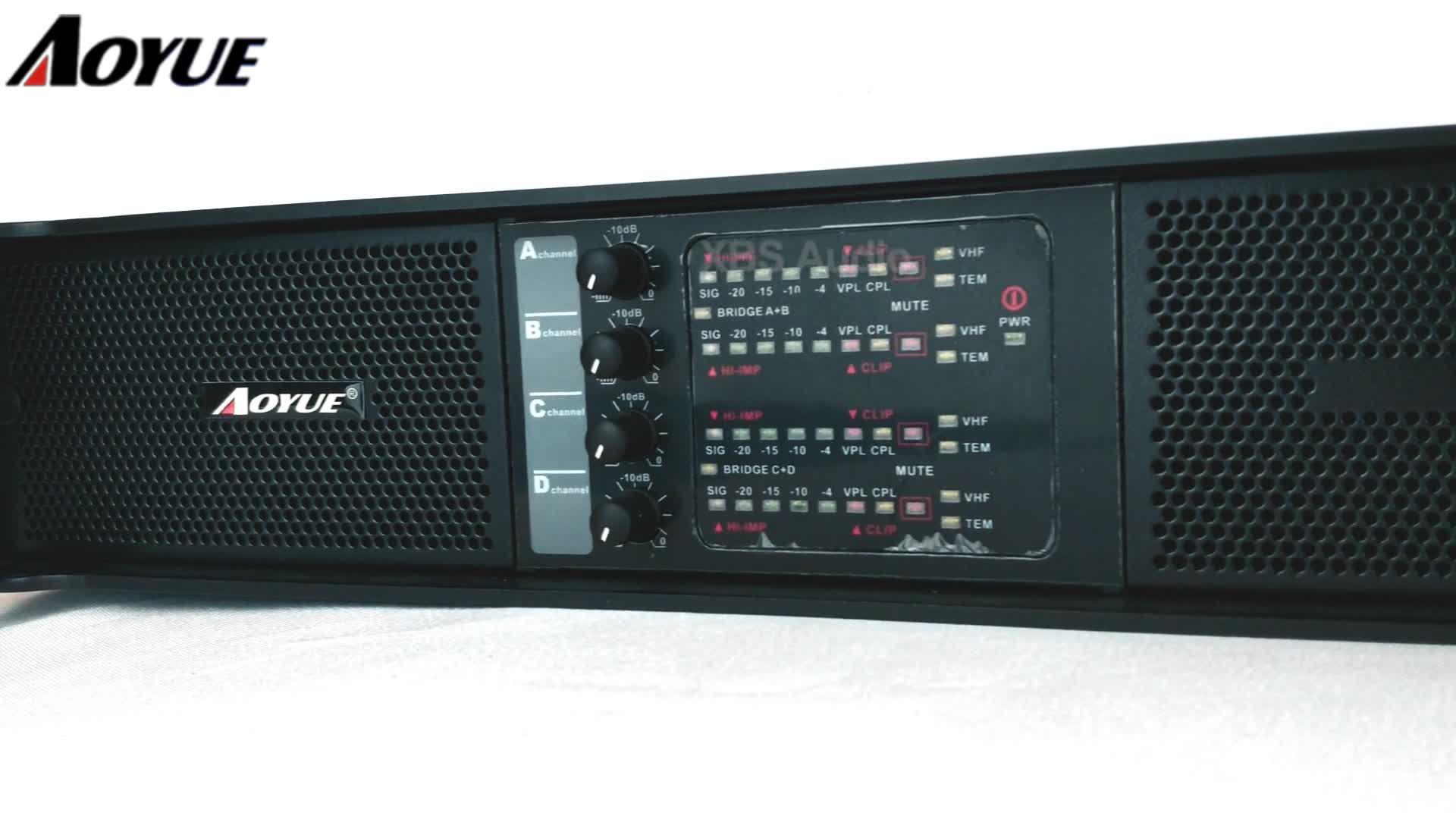 Aoyue ที่ดีที่สุด AMP เครื่องขยายเสียงเครื่องขยายเสียงสำหรับ Live Sound
