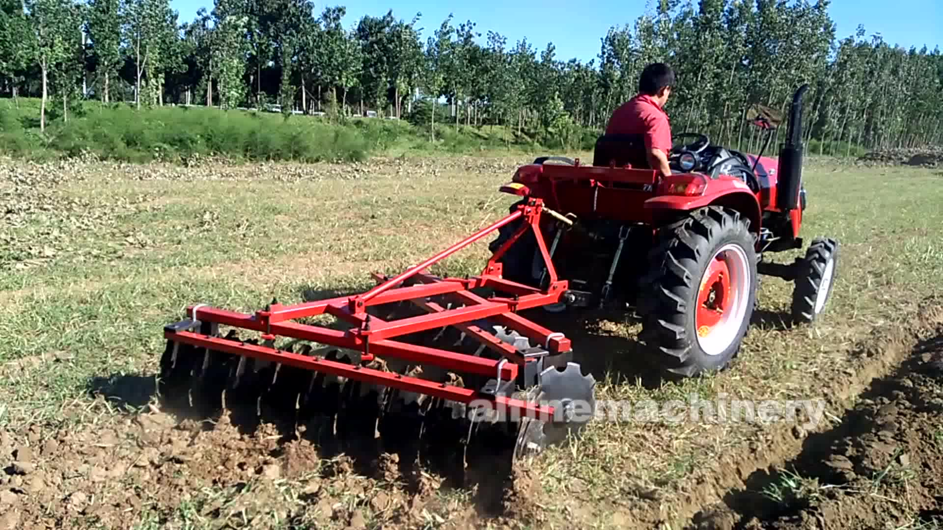 Factory supply best quality tractor machine agricultural farm equipment