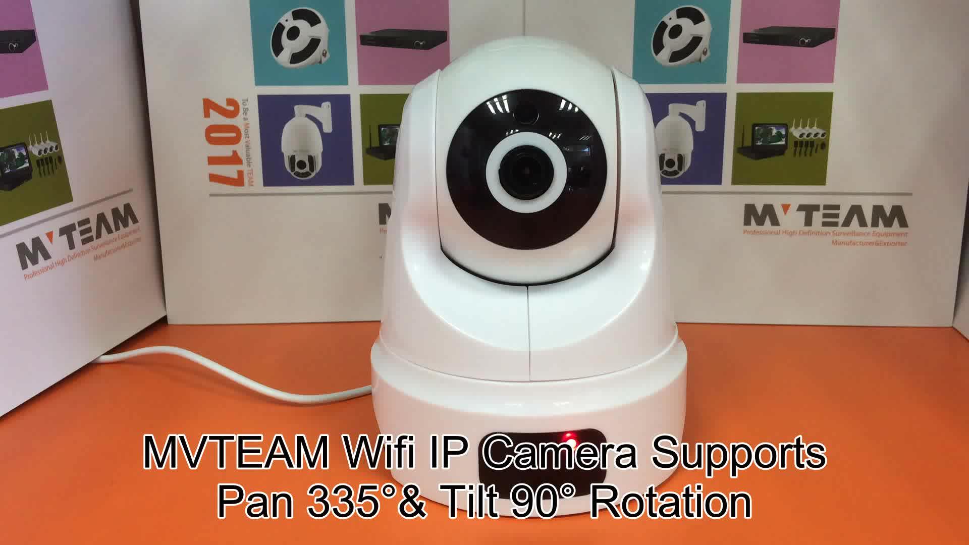 İphone / android tarafından ücretsiz yazılım ile mobil kolay görünüm P2P ip 720p kamera
