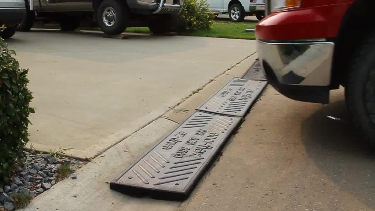 Ez Drive Rubber Curb Ramps Prevent Spoiler Damage