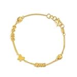 领80元券购买周生生珠宝首饰黄金饰品活动珠手链