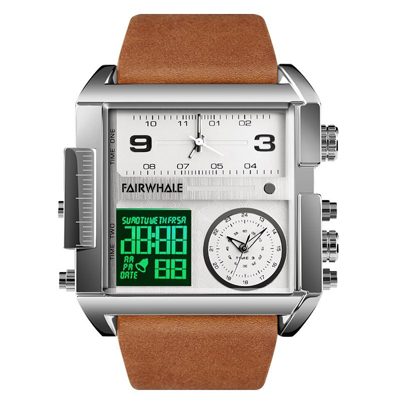 马克华菲新款双显全自动电子手表质量怎么样
