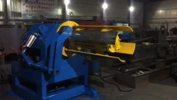Decoilering Straightening and Cutting Coiled Steel Machine