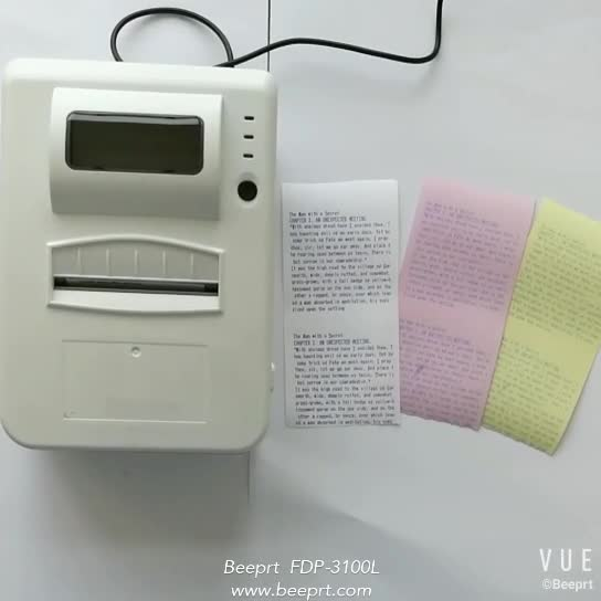 76mm pos dot matrix receipt Needle Stylus Impact printer price for bluetooth cash register