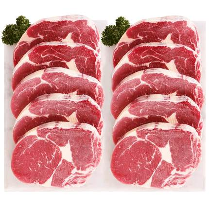美享时刻澳洲家庭原肉牛排西冷眼肉