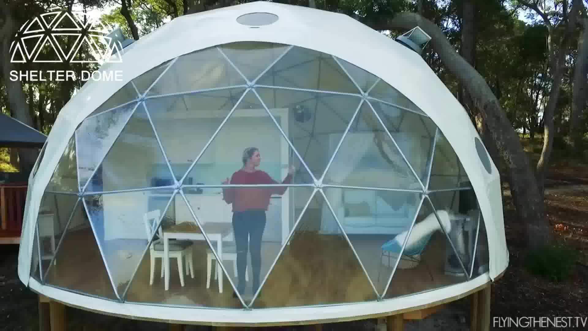 Ceiling Windows Tent Glamping B2b Guangzhou Glass Dome