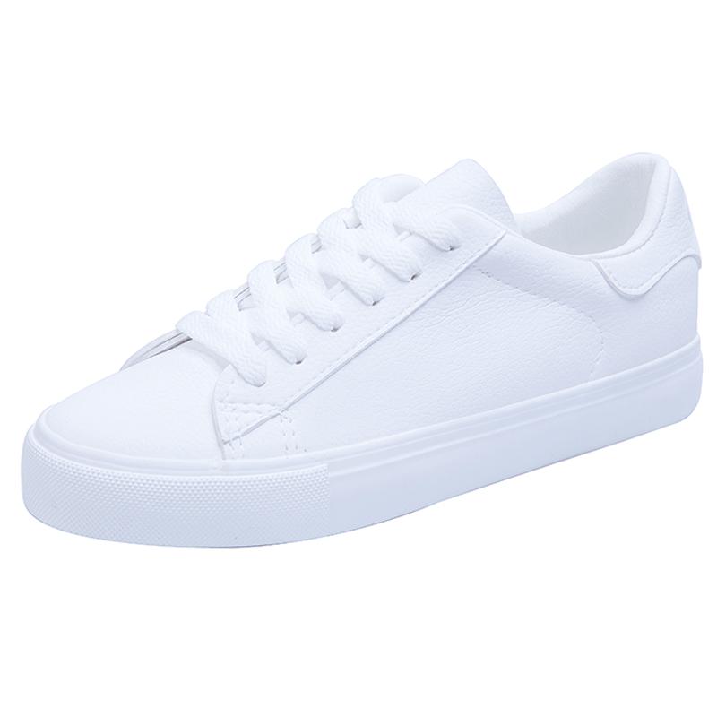 小白鞋女2018冬季新款韩版百搭平底板鞋休闲学生加绒女鞋秋季白鞋