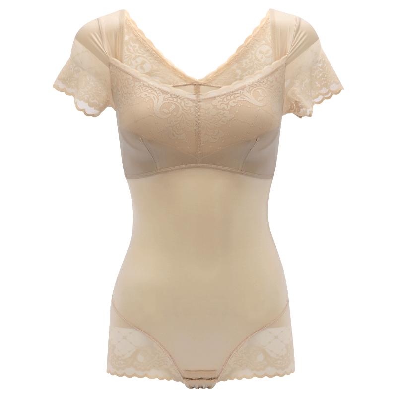 夏季薄款塑身衣连体收腹束腰提臀无痕塑形美体内衣瘦身衣束身衣女