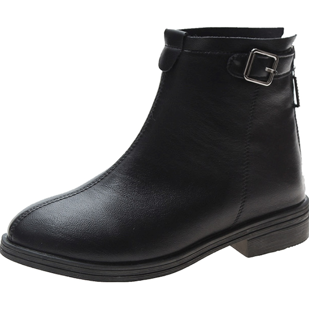 复古英伦风2021春季新款韩版小皮鞋用后反馈