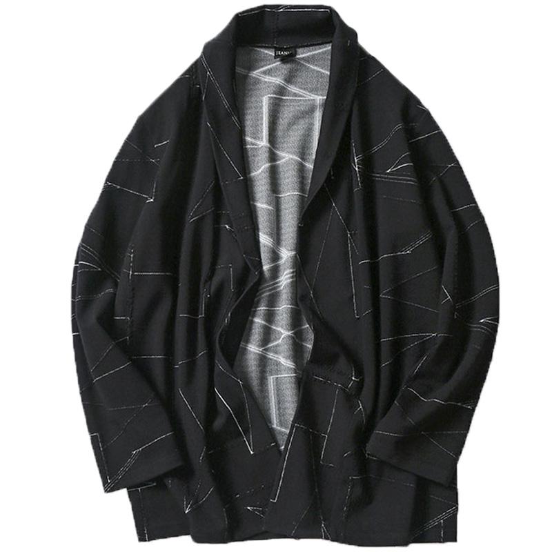日系胖子男士大码男装休闲开衫风衣质量如何