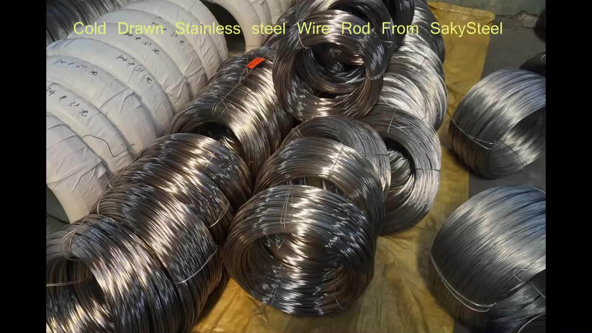 Stainless Steel 304 wire bumbling polishment 0.15mm