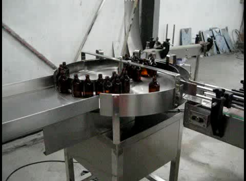 Manufacturer Vial Glass Bottles Syrup Filling Capping Machine