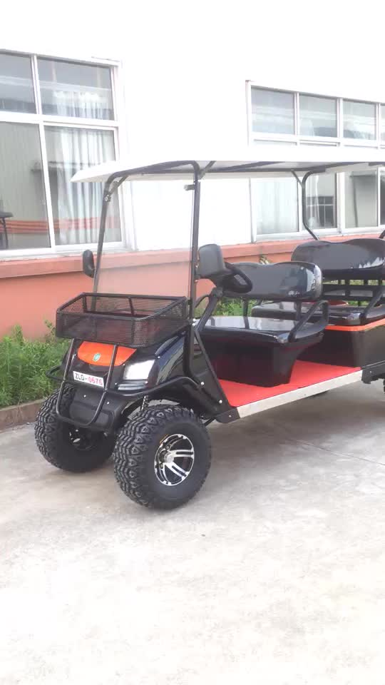 CE certification 4 seater electric golf cart with competitive price