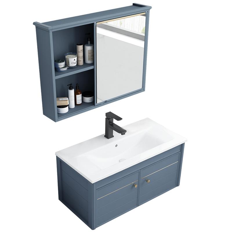 北欧洗手盆柜卫生间简约40cm浴室柜好不好
