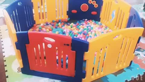安全子フェンスゲートベビーベビーサークル安全赤ちゃんゲームフェンス