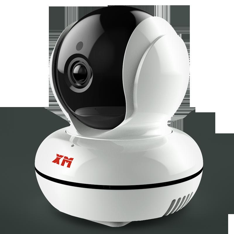 雄迈摄像头无线wifi网络高清360度全景家用监控器手机室外远程