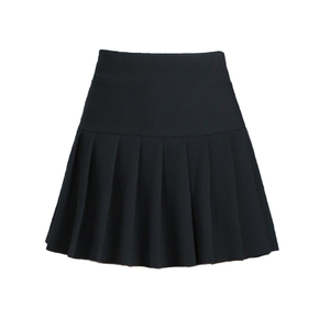 女短裙半身裙黑色百褶裙秋冬新款防走光大码a字显瘦折子打底裤裙