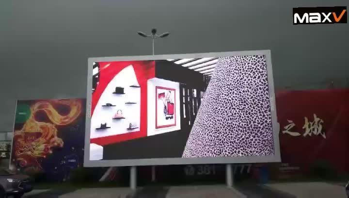 2017 Outdoor Full Color LED Display Screen P8 p10 p16 Screen Big TV Advertising Screen support video display