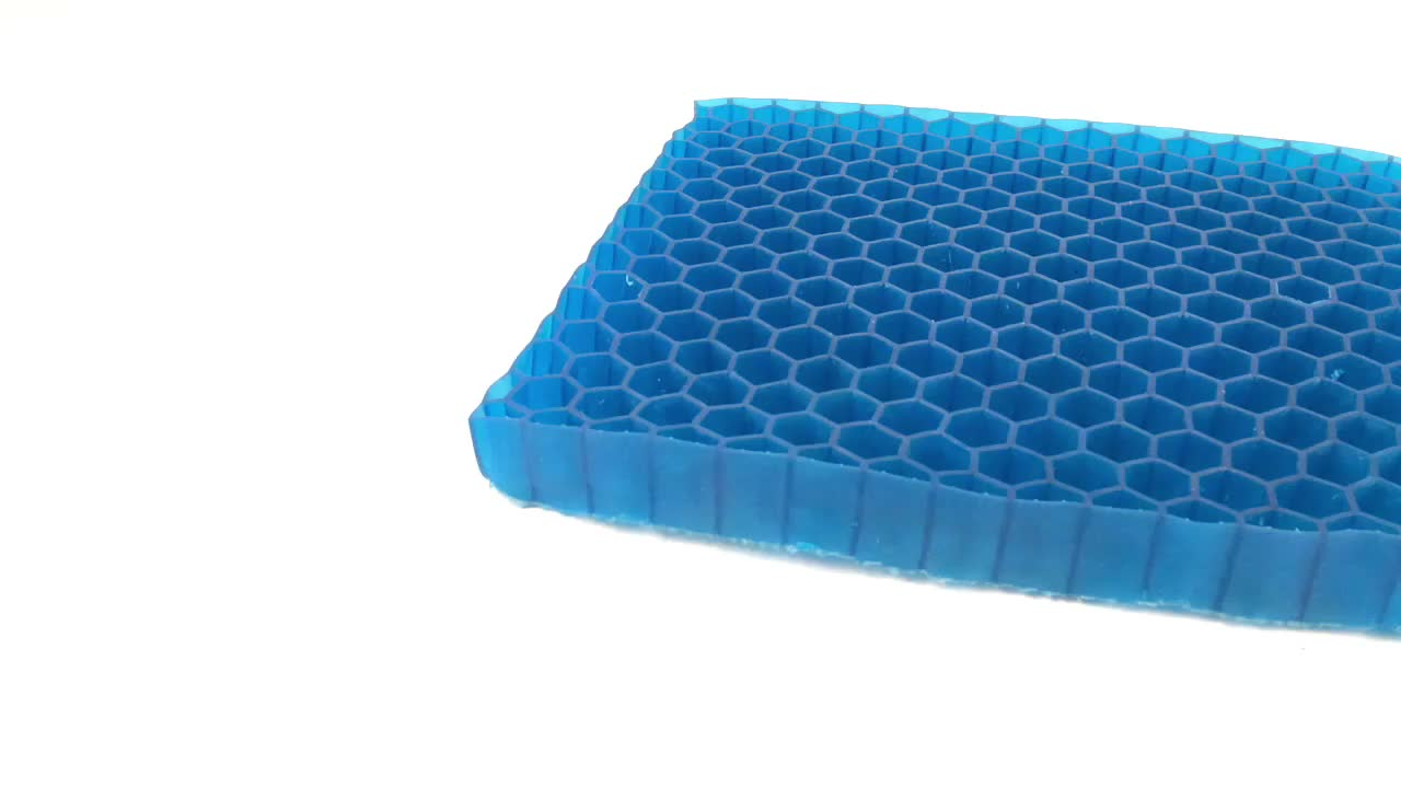 Leadfar 새로운 제품 매우 두꺼운 젤 패드 좌석 쿠션, 냉각 통기성, 줄일 압력 긴 앉아
