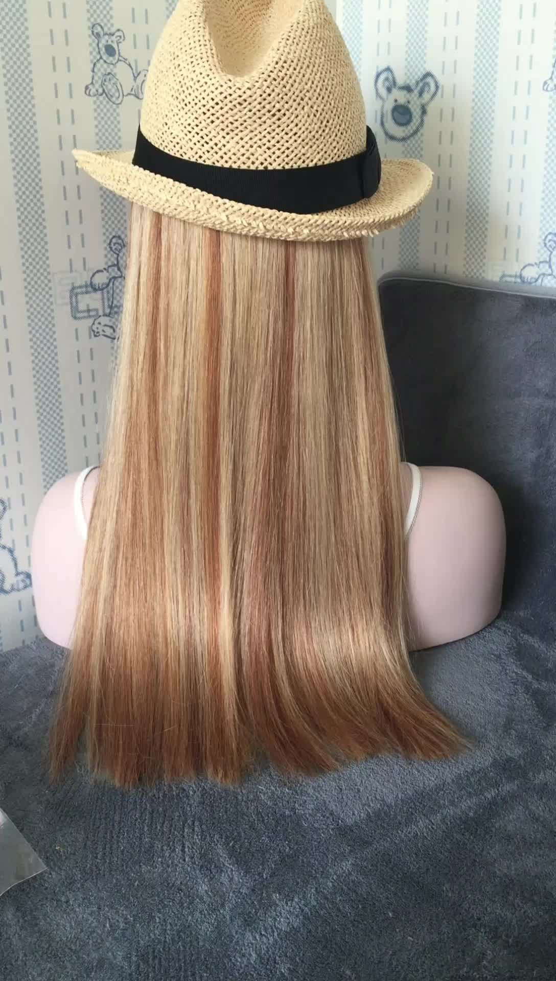 100 Real Remy Human Hair Factory Price White Girl Hair Extensions