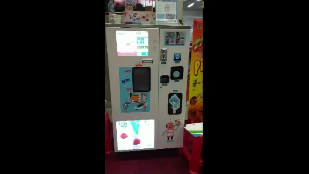 Nhà sản xuất Cung Cấp máy bán hàng tự động ice cream thương mại bán hàng tự động máy làm kem