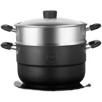 九阳家用不锈钢蒸煮馒头三层蒸锅质量如何