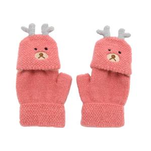 冬男童保暖中大童小学生写字12手套