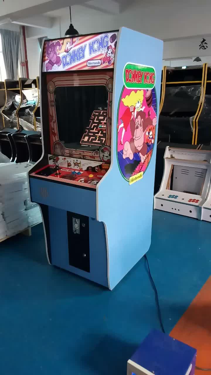 Stand upright arcade cabinet raspberry Pi 3 thousands of games video arcade game machine
