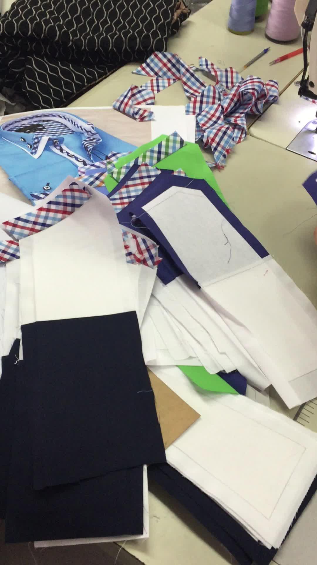 2018 fashionable casual cotton sateen long sleeves green men shirt in China