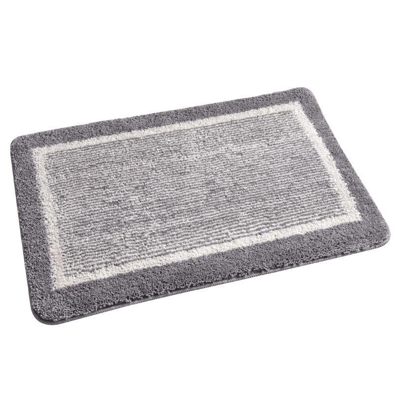 浴室吸水厕所防滑垫子卧室小地毯好用吗