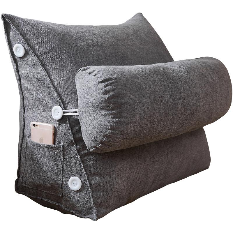 南极人床头纯色大三角座椅靠背垫值得买吗