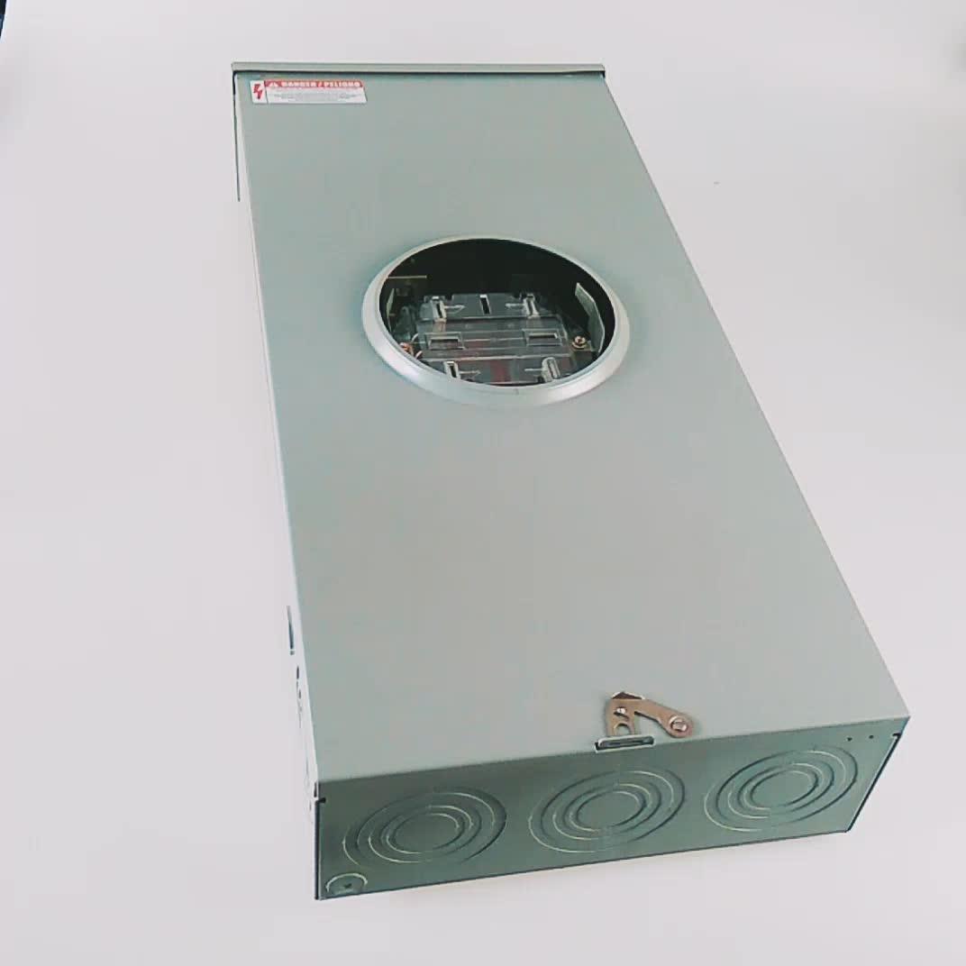 Outdoor Electricity Meter : Amp outdoor residential electric meter socket