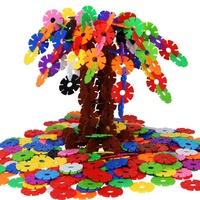 雪花片儿童大号加厚1000片拼装积木质量怎么样
