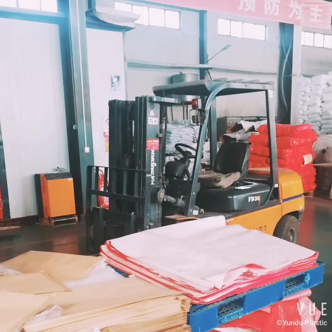 Recyclingkunststoff 10kg 25kg 50kg Polypropylenbeutel PP gewebt Reisbeutel