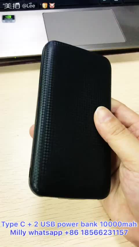Shenzhen Mobile Power Supply, Super Slim Bank Daya Kartu Kredit mi 8000 mAh 10000 mAh