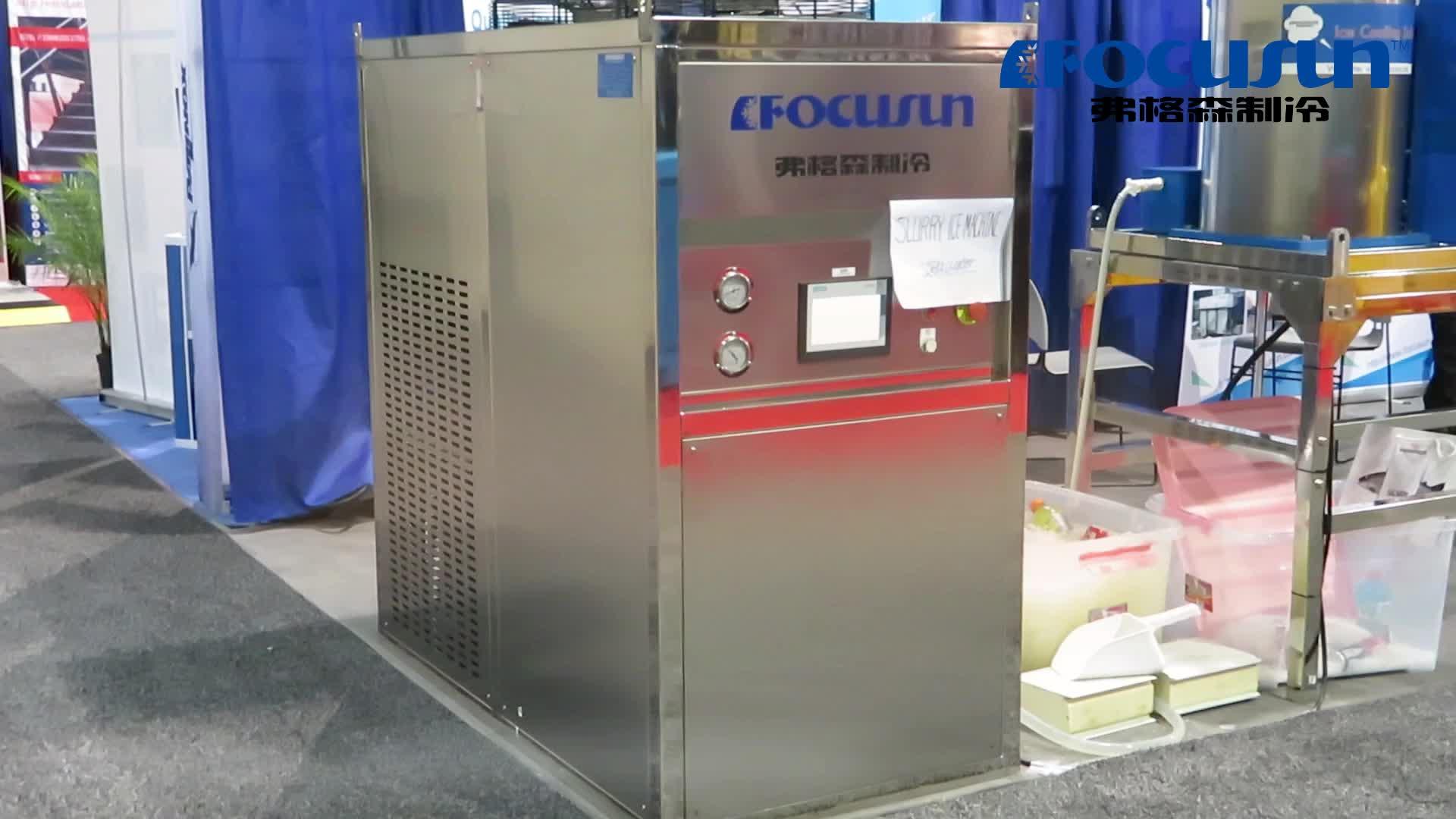 Hoge kwaliteit commerciële industriële drijfmest ijsmachine 5 ton voor visserij