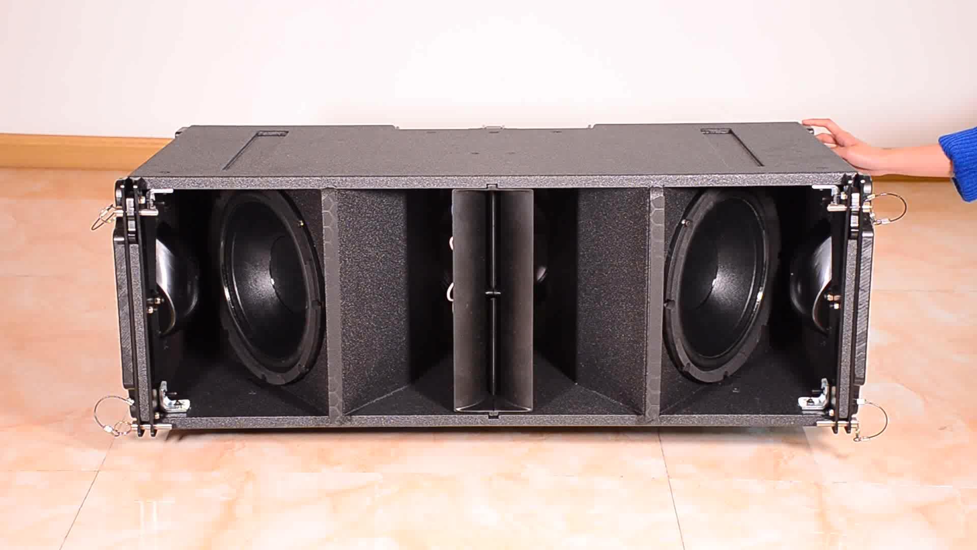 """पेशेवर डबल 10 """"शीर्ष प्रो ऑडियो लाइन सरणी अध्यक्ष/गुआंगज़ौ चीन में ध्वनि प्रणाली"""