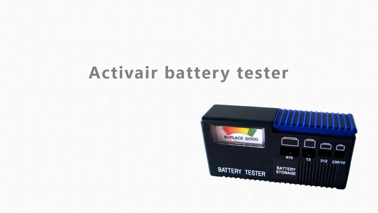 Hot sale big size battery checker for hearing aids